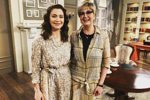 Ксения Лаврова-Глинка и Татьяна Устинова, июнь 2018 года