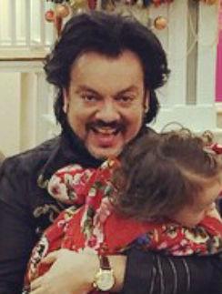 Филипп Киркоров с дочкой Аллой-Викторией