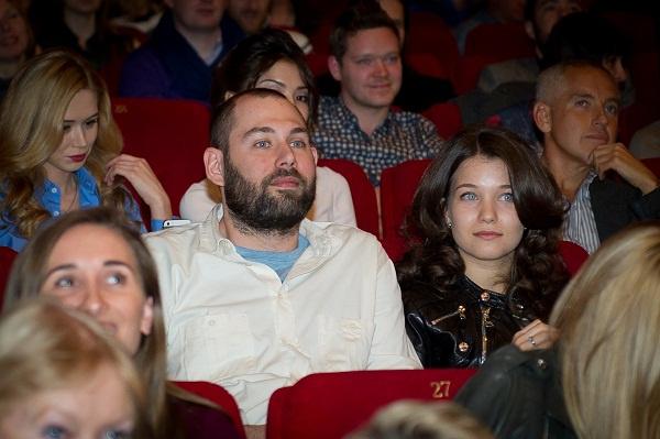 Слепаков с женой Кариной