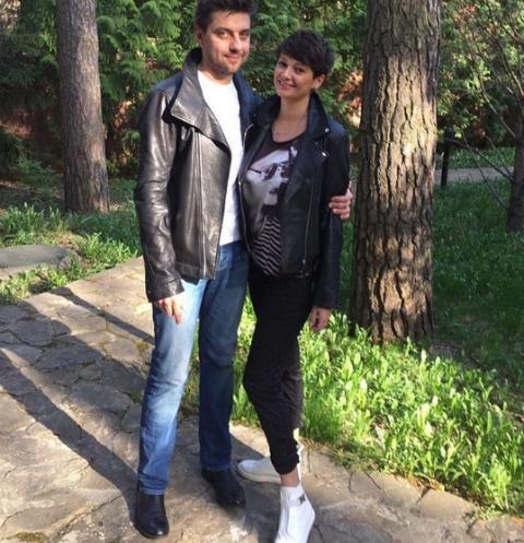 Виктория Талышинская с супругом Иваном