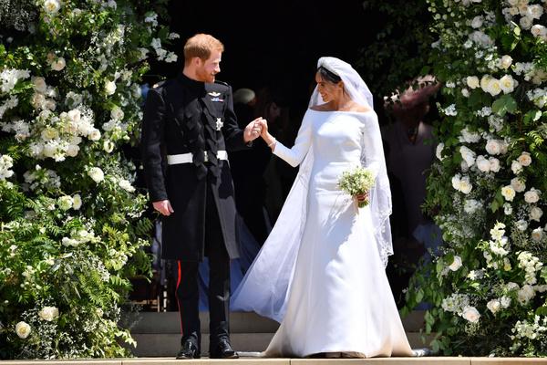 За свадьбой влюбленных по телевизору наблюдали миллионы зрителей по всему миру