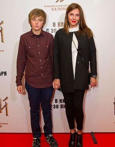 Татьяна Лютаева с сыном Домиником