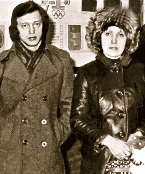 Галина Ненашева с мужем Борисом