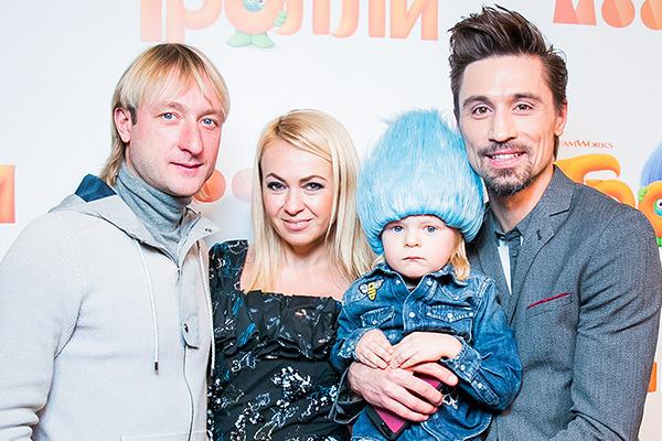 Билан с семьей Яны Рудковской