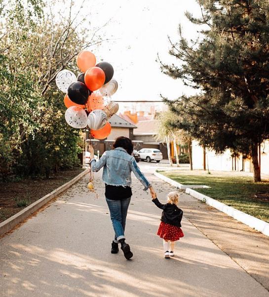 В конце апреля дочери актера исполнилось два года