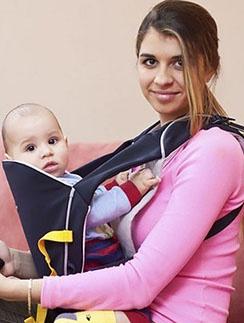 Алиана с сыном Робертом поселились в московской квартире