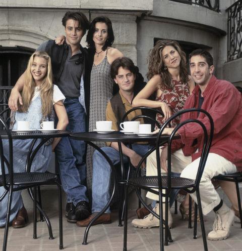 Актеры сериала «Друзья»