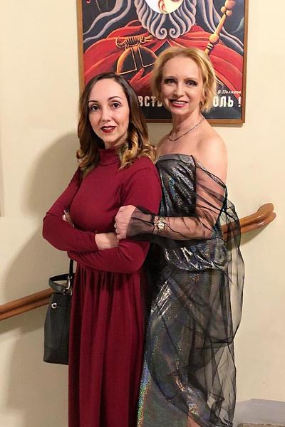 Ирина с дочерью