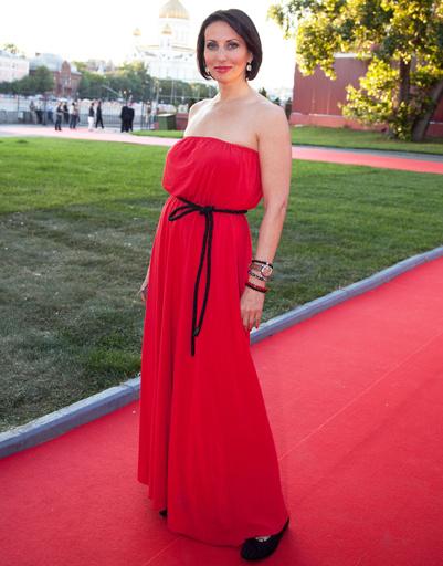 Алика Смехова на приеме по случаю открытия ММКФ
