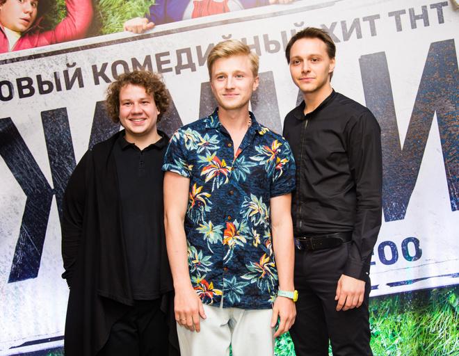 Павел Комаров, Вячеслав Чепуренко, Вадим Дубровин