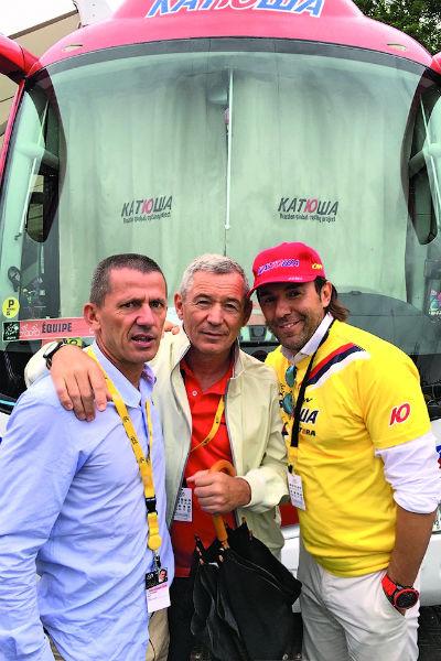 Я с Игорем Макаровым   (в центре) и Яном Ле  Моннье