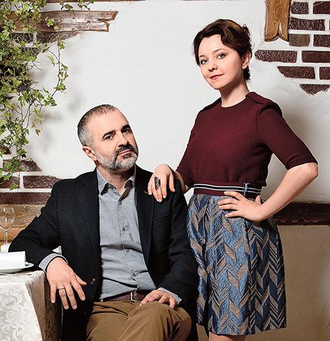 Валентина Рубцова c супругом Артуром