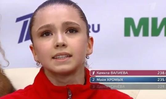 Камила Валиева доказала свой профессионализм