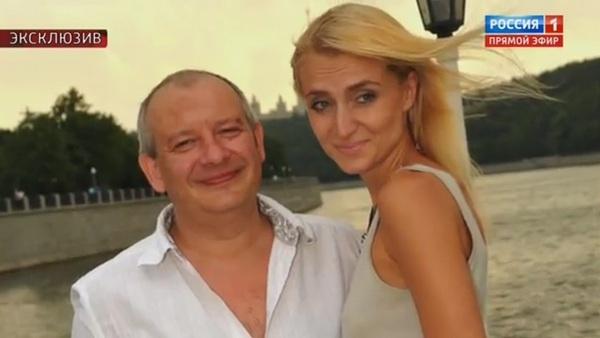 Дмитрий Марьянов с женой Ксений