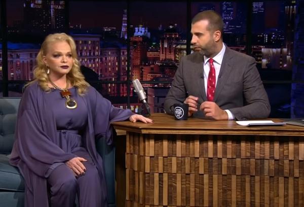 Публика не оценила наряд Долиной, выбранный для шоу «Вечерний Ургант»