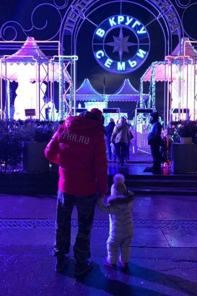 Иван старается приучать дочь к активному образу жизни