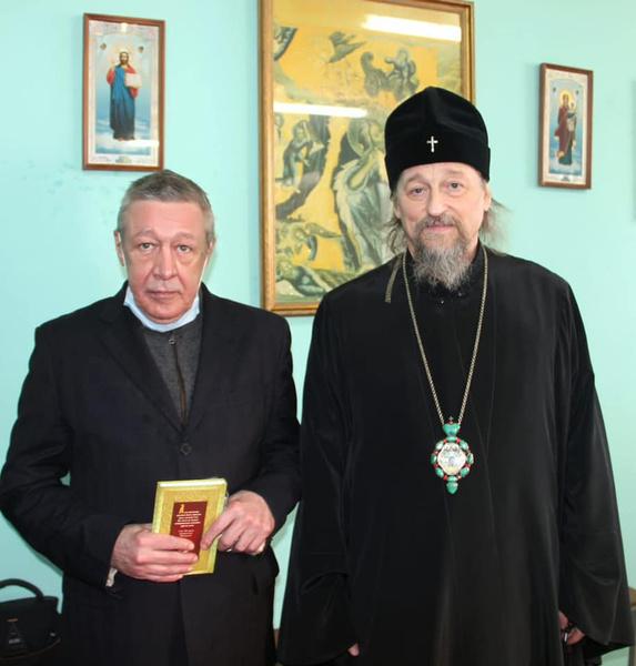 В СИЗО Белгорода актер посещал церковную службу