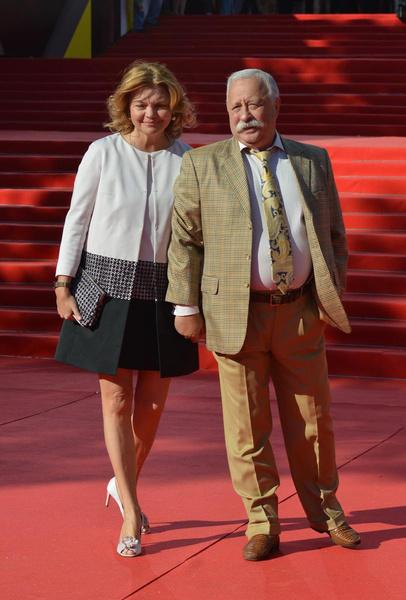 Леонид Якубович с супругой