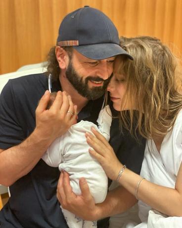 Первое фото новорожденного мальчика