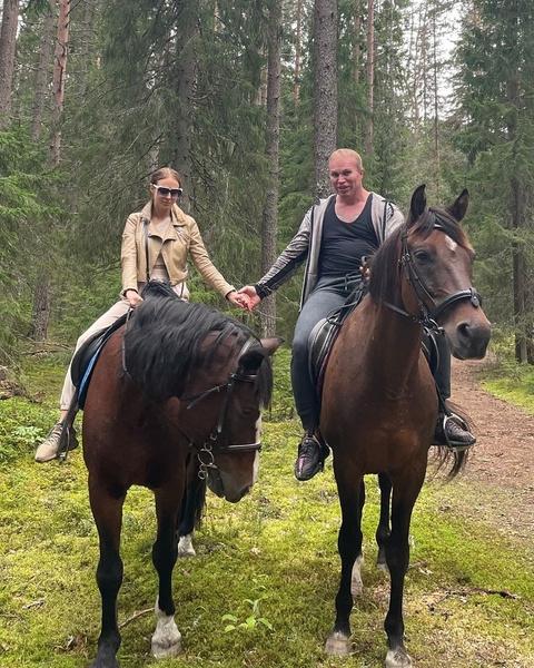 Шпак и Диана вместе с середины июля