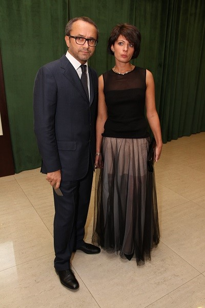 Андрей Звягинцев с Анной Матвеевой