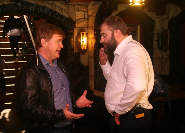 Михаил Пореченков и продюсер Андрей Сигле