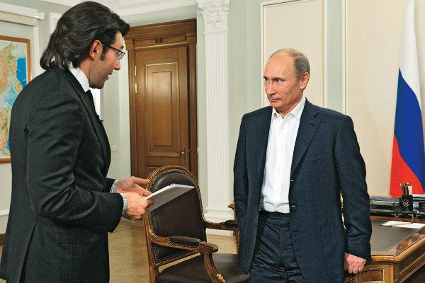 Это не первая встреча Андрея Малахова и Владимира Путина