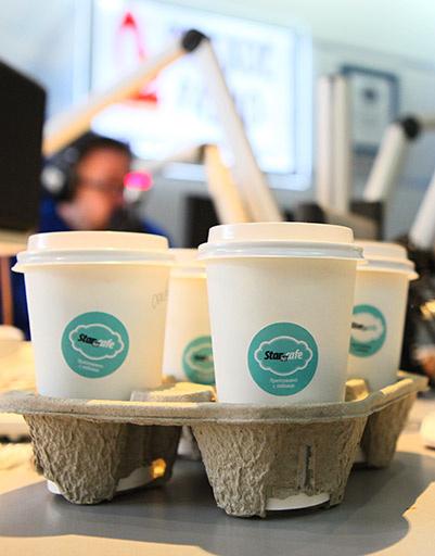Андрей Малахов поддержал русских перцев кофе из «СтарХит кафе»