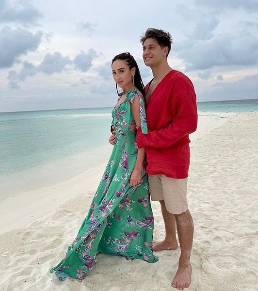 Дава сыграл имитированную свадьбу с Бузовой на Мальдивах