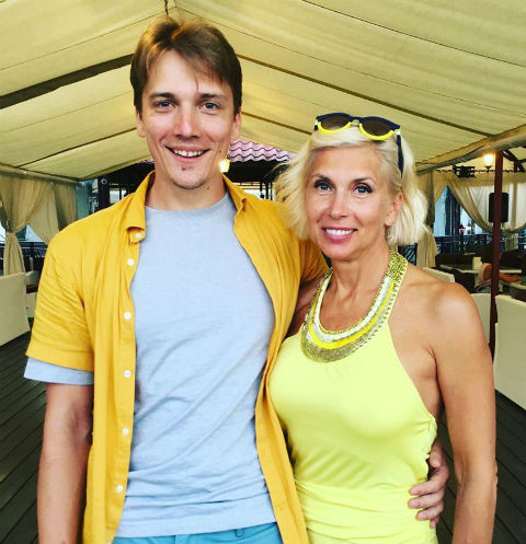Алена с сыном Василием