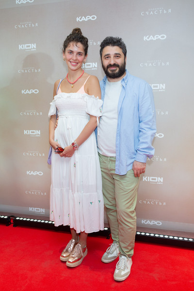 Сарик Андреасян с Лизой Моряк