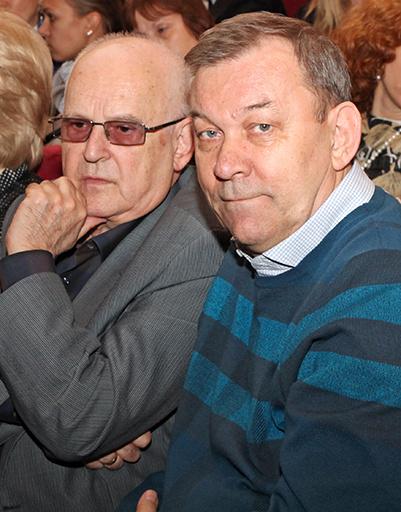 Генеральный директор Большого театра Владимир Урин (справа)