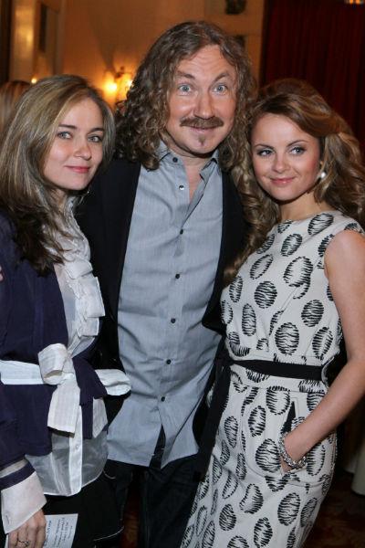 Игорь Николаев с женой и дочерью