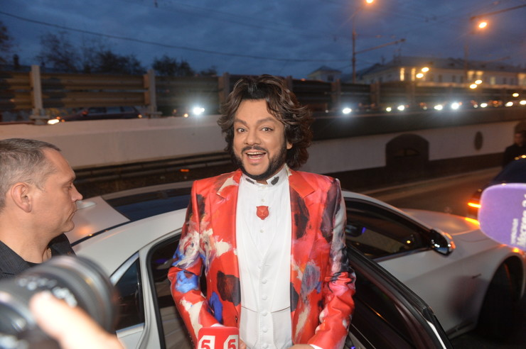 Киркоров подарил героям вечера песню для первого танца