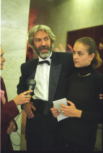 Борис Хмельницкий с дочерью Дарьей