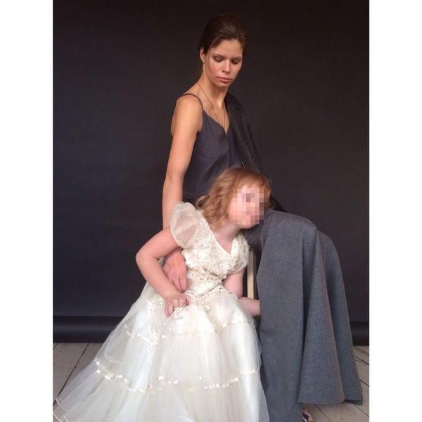 Анастасия Аброскина с дочерью Ульяной