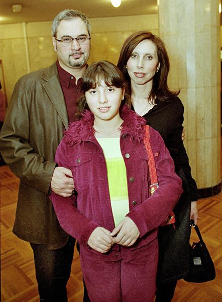Валерий и Ирина Меладзе с дочерью