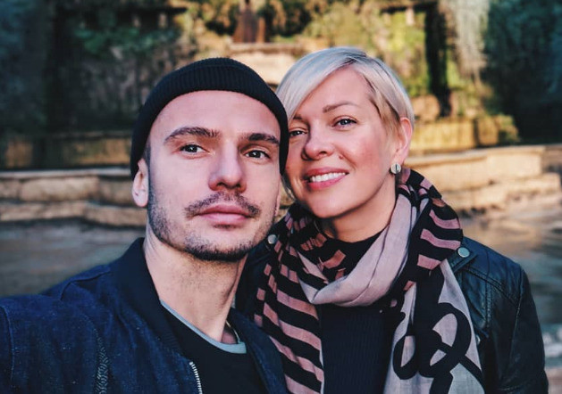Валерий со своей избранницей Анной