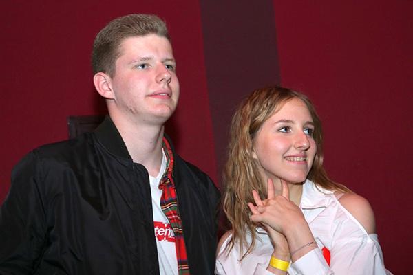 Дочь Максима Виторгана Полина и сын Даниил