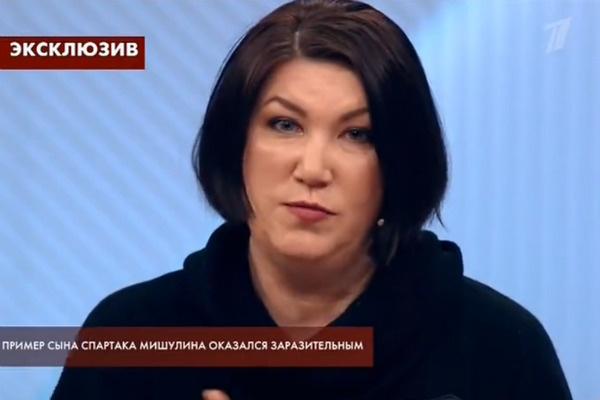 Евгения Харькова мечтает общаться с актером