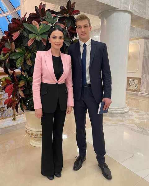 Журналистка осталась в восторге от интервью с наследником Лукашенко