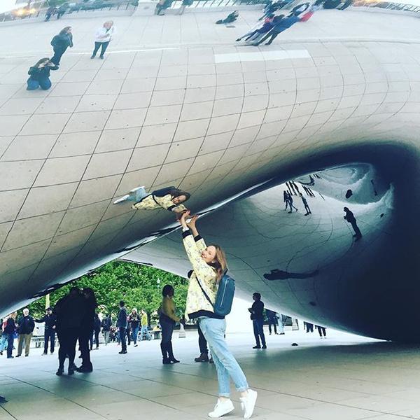 Клауд-Гейт в Чикаго