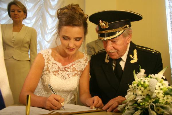 Иван и Наталья Краско поженились 9 сентября этого года