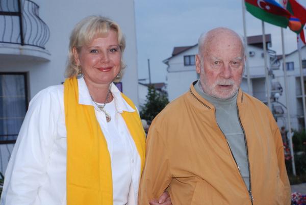 Евгений Ташков с супругой Татьяной
