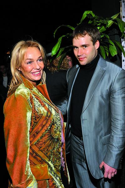 Наталья с сыном Дмитрием