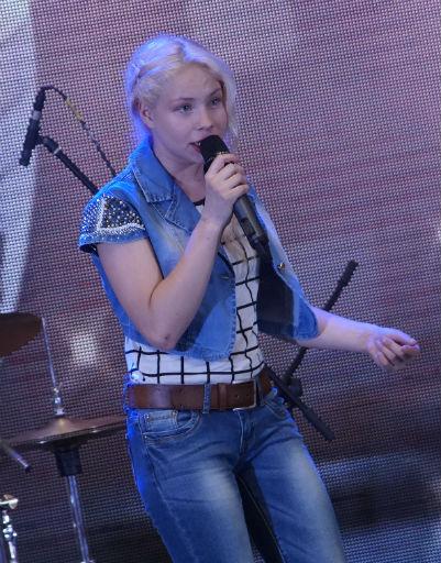 Ученица вокальной школы Сергея Пенкина