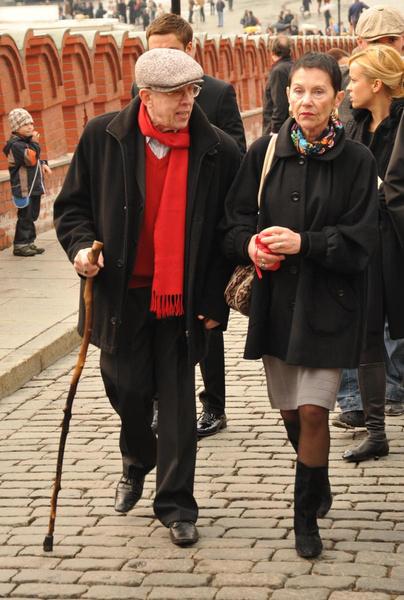 Золотухин с женой Тамарой Владимировной