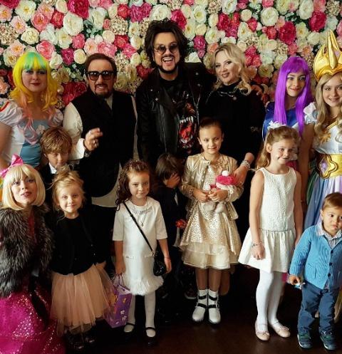 Праздник Маши Михайловой посетил Филипп Киркоров с детьми