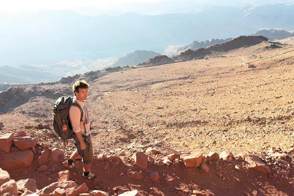 В Египте Андрей Губин покорял горы