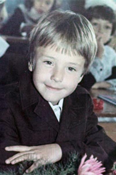 Виталий Грачев в детстве
